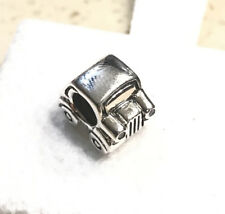 RETIRED Pandora Car, Clear & Red CZ Charm #790405CZ + Gift Packaging & Pouch