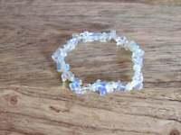 Opal Stone Bracelet Healing Crystal Tumbled Charm Reiki Yoga Natural Gemstone