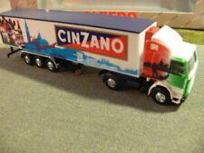 1/87 Albedo Scania 142 Cinzano Kühlkoffer-Sattelzug