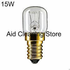 15w Branded Oven Lamps / Cooker Light Bulbs 240v SES E14 300 Degree 15w