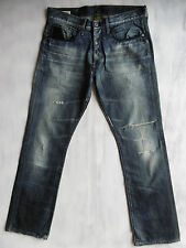 G-Star Stable Classic aged used destroyed Denim Jeans Hose W33/L32 1AZust. °185