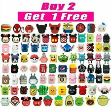 AirPods Silicone Case Cute 3D Cartoon Protective Cover For Apple AirPod 2 / 1🔥