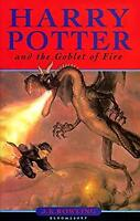 Harry Potter and the Goblet of Fire by J. K. Rowling-ExLibrary