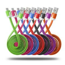 Flat Noodle Micro USB Sync Charger Cable For Samsung Galaxy Tab S2 S A E View
