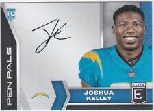 Joshua Kelley Los Angeles Chargers 2020 Donruss Elite Rookie Pen Pals AUTO RC