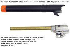 WE Tech 1911 MEU SOCOM Outer & Inner Barrel Hop Up Gas Blow Back Pistols Airsoft