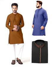 Men Kurta Shalwar Pakistani Indian Dress New Eid Casual Dress Sizes