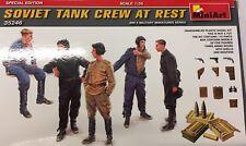 MiniArt 35246 1/35 Soviet Tank Crew At Rest