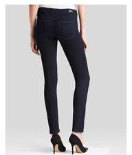 Brand New PAIGE Transcend Skyline Skinny Jeans In Mona Dark Blue Size UK 6 £190