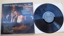 Jackie Gleason Presents Music, Martinis, And Memories (Capitol W509) - LP