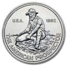 1 oz Silver Round - Engelhard Prospector (Random Year) - SKU #9712