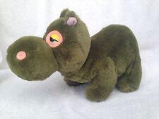 "Sugarloaf Green Hippo Plush 11"" Hippopotamus Stuffed Animal Soft Toy Gorgeous"