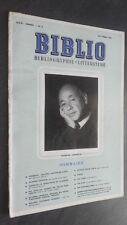 Revista Hör Bibliothek Eugene Ionesco Octubre 1963 N º 8 ABE