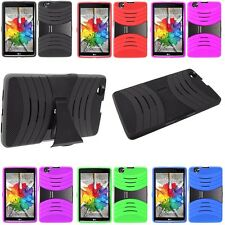 Shockproof Hybrid Hard Cover Armor Kickstand Case For LG G Pad X 8.0 V520 V521