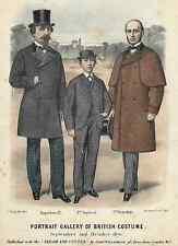 "English Fashion - ""PORTRAIT GALLERY OF BRITISH COSTUME"" - H-Col Eng - 1870"