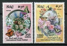 Iraq 2019 MNH Iraqi Festival of Flowers 2v Set Butterflies Nature Stamps