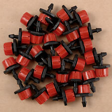 20/30pcs Micro riego Adjustable jardín del dripping goteo para 1/4'' manguera