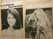 Kathrine Baumann, Harry-O, Two Page Vintage Clipping