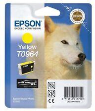 Cartouches d'encre jaune pour imprimante Epson d'origine