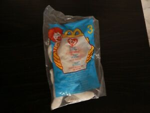 Flip the Cat toy Ty Beanie Babies #3 new 2000 McDonalds Happy Meal