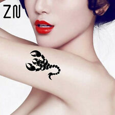 Escorpiones brazo Tatuajes Temporales Body Art Tatuaje Pegatinas Falso Tatoo