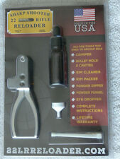 SHARPSHOOTER 22 LONG RIFLE RELOADER! GREAT FOR PREPPING NEW