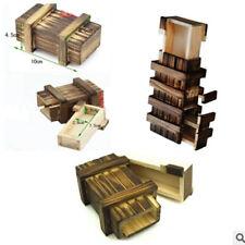Hot Magic Puzzle Box  Wooden  New Compartment Secret  Puzzles Toy Funny