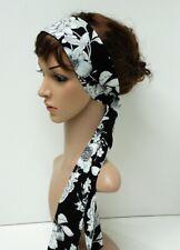 Long headband, bandanna, hair tie, hair scarf, head scarf, summer headscarf