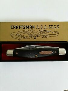 Craftsman Pocket Knife A.C.A. Edge USA made