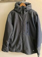 Oneill Winter Coat Jacket Out Wear Gray & Blue Mens Size XL NWT