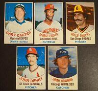 1977 Hostess Twinkee Baseball Card Lot of 5
