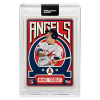 Topps PROJECT 2020 Card 187 - 2011 Mike Trout by Grotesk *presale*
