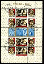 Guinea 1965 SG#MS499 Space, Astronauts CTO Used M/S #S448