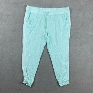 Secret Treasures Women's Sleepwear Pajamas 2X 18W-20W Rayon Stretch Drawstring