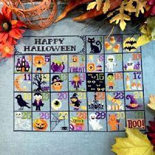 tiny modernist - Halloween Calendar Counted Cross stitch Pattern