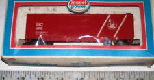 Vintage Model Power Ho Central New Jersey Cnj Wood Style Box Car with Org. Box