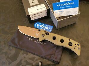 Benchmade 273FE-2 MINI ADAMAS® CPM-Cruwear Olive G-10 Handle (Brand New In Box)