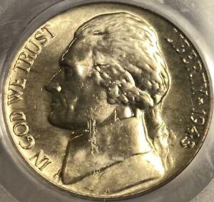 1943-D Jefferson Nickel PCGS MS66 War Nickel Lustrous Gem!