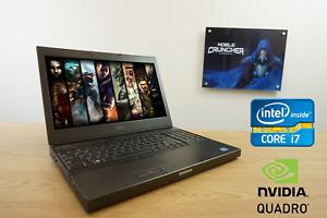 Dell Gaming Laptop Intel i7 Quad Core 12 GB RAM Nvidia Dedicated GPU Fast SSD✓