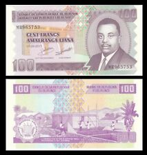 New ListingBurundi 100 Francs, 2011, P-44b, Prince Rwagasare/Home, Unc World Currency
