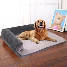 Sofa Dog Bed Mermory Foam Dog House Cushion Mat Shepherd L Shaped Couch