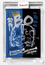 Topps Project 70 Card 280 - 1999 Bo Jackson by Gregory Siff Presale🔥