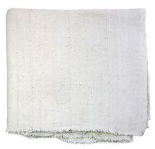 Handwoven unprocessed cotton Bogolan mud cloth textile from Mali MP1