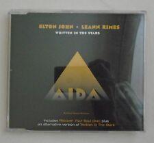 ELTON JOHN & LeANN RIMES ~ Written In The Stars ~ CD SINGLE