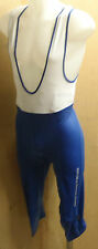 NALINI PRO LYTIG KNEE-LENGTH LYCRA BIB TIGHTS/NIX XXL UK P&P FREE