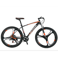 "Aluminium Frame Mountain Bike Shimano 21 Speed 27.5"" Mens MTB Disc Brake Bicycle"