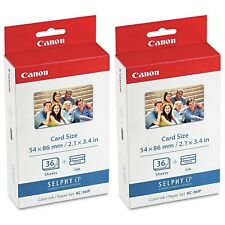 Canon KC-36IP Color Ink / Paper Set 72 Sheets For SELPHY Compact Photo Printer