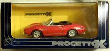 Progetto pk163a: FIAT DINO SPYDER 2000 hard top, modello finito in 1/43, NUOVO & OVP