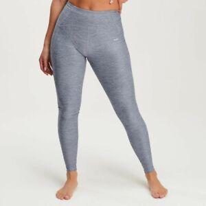 My Protein Womens Composure Gym Leggings Grey Size M 10 12 Galaxy BNWT rrp £34