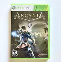 Arcania Gothic 4 Microsoft Xbox 360 New Sealed